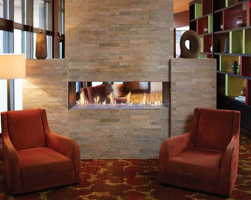 DaVinci by Travis Industries - DaVinci See-Thru - Indoor Fireplaces