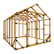 10x12 Standard Storage Shed Kit, With Floor Framing