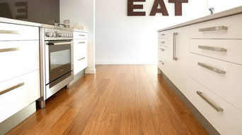 Plantation Bamboo Flooring - coffee colour