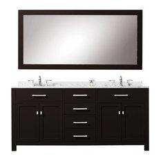Bathroom Vanity With Ample Storage 72-inch Double Vanity
