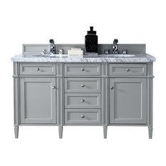 double sink bathroom vanities  houzz, Bathroom decor