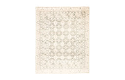 Jaipur Living Stage Knotted Border Ivory/Green Area Rug, 3'x12' Runner