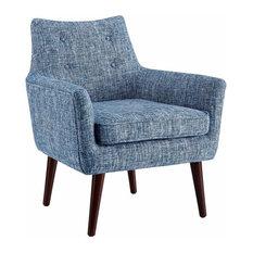 Linon Marie Blue Modern Chair