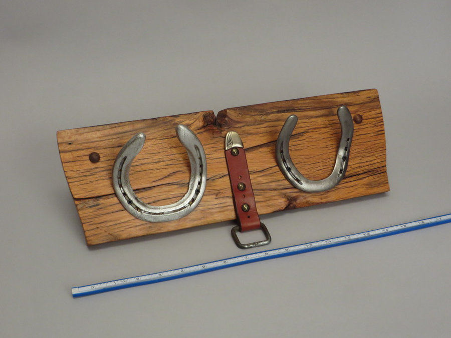 #R15092 Reclaimed Lumber, Horse Shoes, Tack Leather