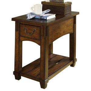 Prime Ashley Hatsuko Dark Brown Rectangular End Table Pdpeps Interior Chair Design Pdpepsorg
