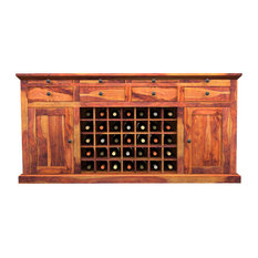 Built In Wine Cooler Buffets Sideboards