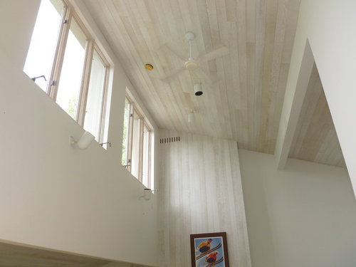 Whitewashed Wood Ceilings
