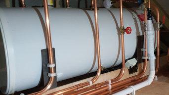 Unvented system installed by Boiler Engineer 4U LTD