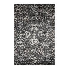 Nourison Twilight Floral Onyx Rug, 366x457 Cm
