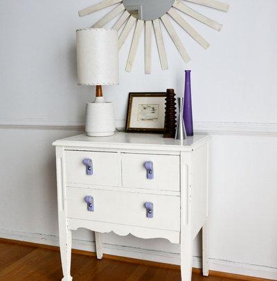 refresh an dresser with leather belt handles