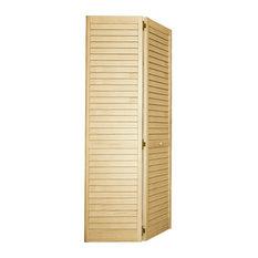 Attirant Kimberly Bay   Plantation Bi Fold Closet Door, Louver/Louver, Clear,