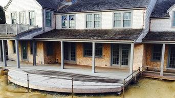 Polpis, Nantucket, MA - Frame, Side wall, Exterior and Interior trim