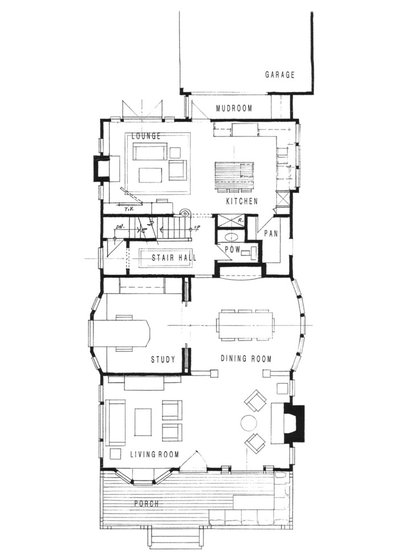 Best Beach Style Floor Plan Santa Monica Beach House