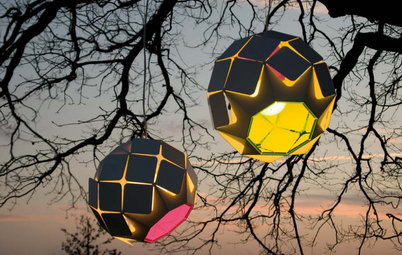 10 Creative and Colorful Outdoor Lights