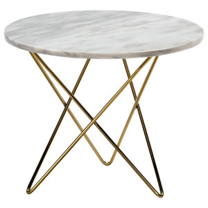 Marble Coffee Table, White Marble