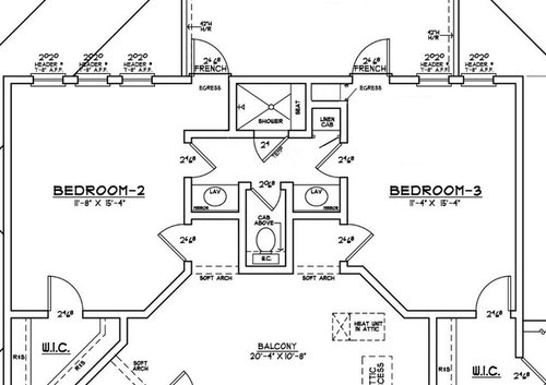 Jack and jill baths - Jack and jill bathroom plans ...