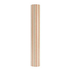Decolight Print 2-Bulb Floor Lamp With Cable, Striped
