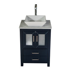 cll collections newport vanity navy 24 inches vessel i