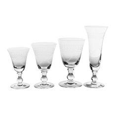 1-Ball Stem Wine Glasses, Garland, Set of 48