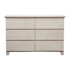 Mid Century Dresser 17x50x32, Unfinished