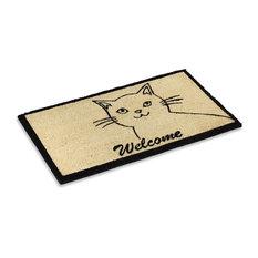 Cute Cat Welcome Coco Doormat