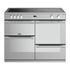 Sterling Deluxe S1100EI 110 cm Electric Induction Range Cooker, Stainless Steel