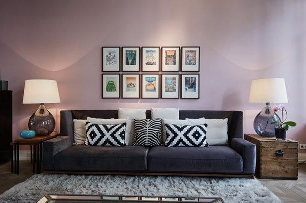 Modern Wohnzimmer by Anja Lehne interior design