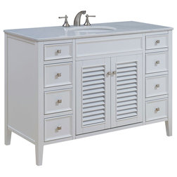 Transitional Bathroom Vanities And Sink Consoles by Elegant Furniture & Lighting