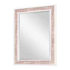 beach style bathroom mirrors style white bathroom mirrors houzz 17273