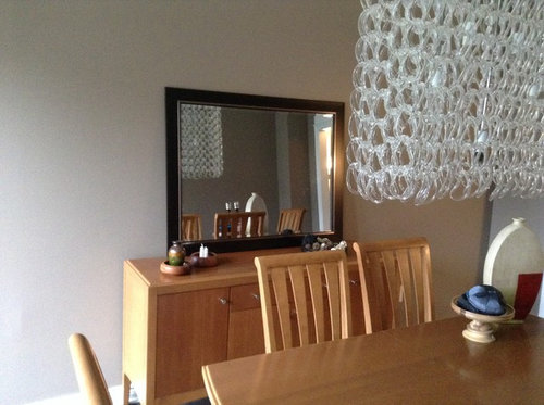 Dining Room Mirror And Art Height