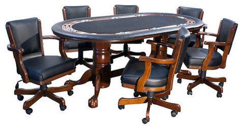 Kenwyn Texas Holdu0027em Game Table Set   Game Tables