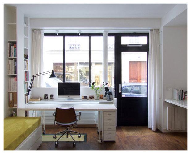 Contemporain Bureau à domicile by Studio Pan