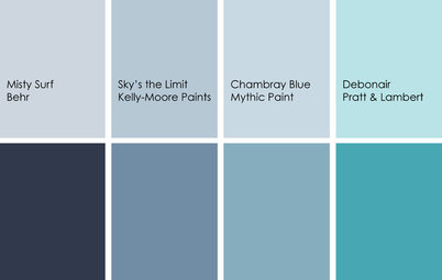 Color Feast: Yes, You Can Use Blue in the Dining Room