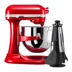 KitchenAid Artisan 6.9 l. Bowl Lift Food Mixer, Empire Red