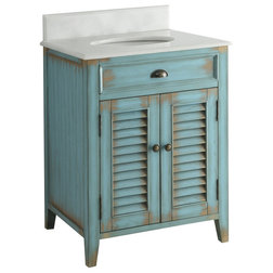 Farmhouse Bathroom Vanities And Sink Consoles Farmhouse Bathroom Vanity, 26""
