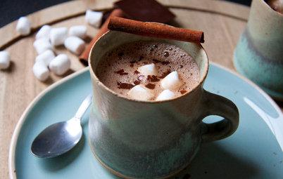 Aux fourneaux : Un chocolat chaud à la guimauve