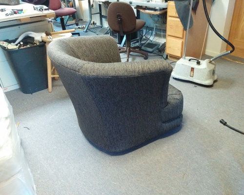 Upholstered Chair - Living Room Chairs