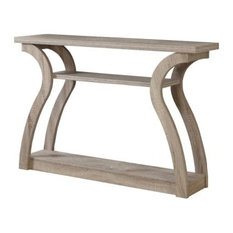 """Accent Table, 47""""L, Dark Taupe Hall Console"""