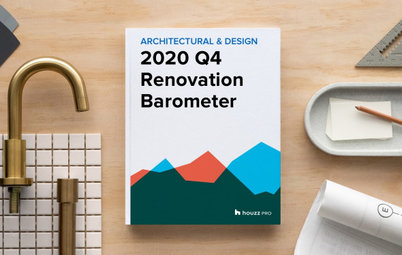2020Q4 Houzz Renovation Barometer - Architectural & Design Sector