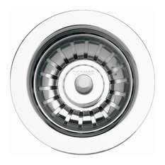 "Blanco 441091 3-1/2"" Basket Strainer and Sink Flange - Polished Stainless Steel"