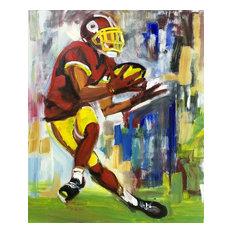 """""""Football II"""" Oil Painting"""