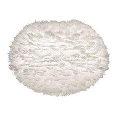 Eos Feather Shade, White, Medium
