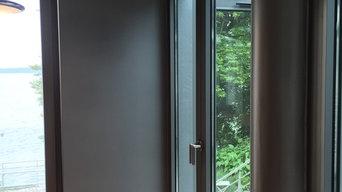 Innovative Lacktechnik - metallic Lackierung im Innenbereich