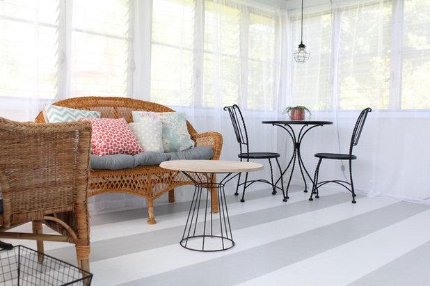 diy ein gestreifter dielenfu boden. Black Bedroom Furniture Sets. Home Design Ideas