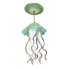 prim glass blown glass chandelier art glass chandelier lighting jellyfish light