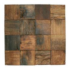 Reclaimed Boat Wood Tile Sample