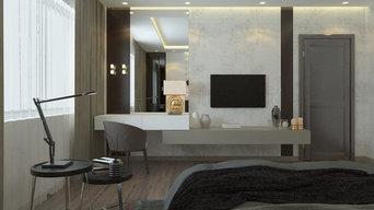 Дизайн спальни в индустриальном стиле
