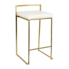 50 Most Popular Gold Bar Stools And Counter Stools For 2019 Houzz