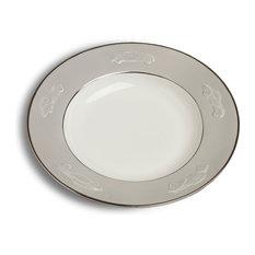 Concours d'Elegance Pasta Bowl Set of 2, Gray