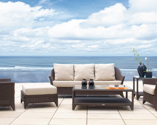 Malta Wicker Outdoor Seating Collection from Skyline Design